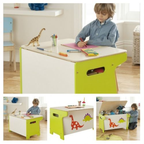 Kids-Study-Desk-Table-Toy-Storage-Box-Furniture-Small-Office-School-Bedroom-Wood