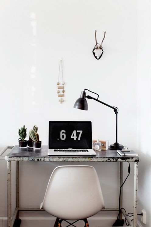 Scandi work space