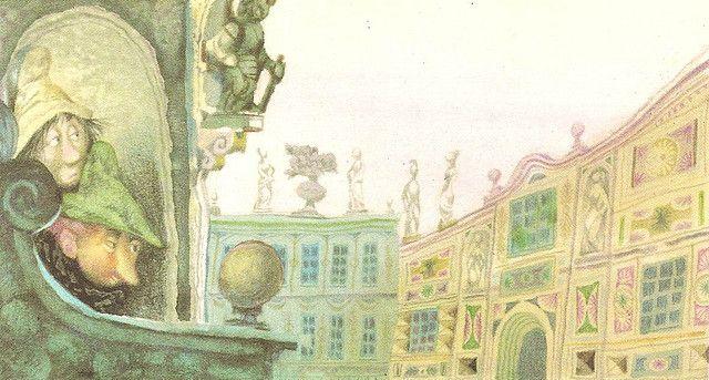 Jiri Trnka (Conte d'Andersen - LES HABITS NEUFS DE L'EMPEREUR - les malins tailleurs)