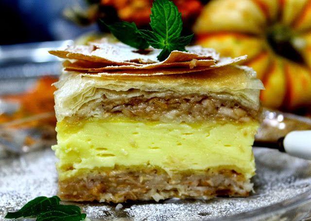 Pita sa jabukama i kremom od vanilije