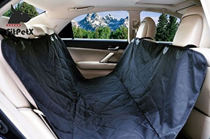 FitPetX Deluxe Waterproof Pet Seat Cover For Cars And SUV -Nonslip, Quilted…