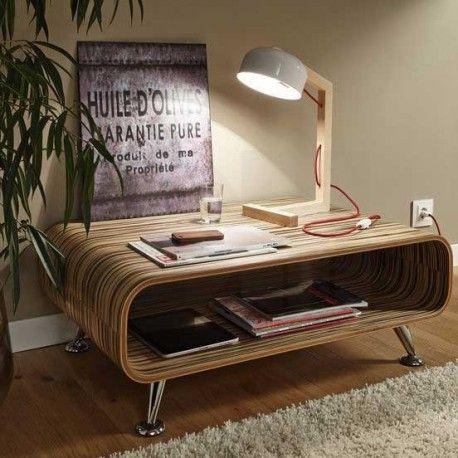 Επιτραπέζιο φωτιστικό GIZZERA ξύλινο λευκό & μαύρο