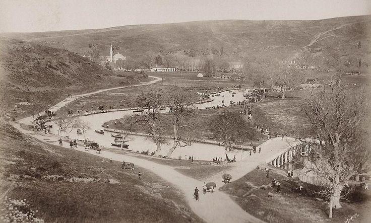 1880'li yıllarda Kağıthane G. Berggren #istanbul #istanlook #birzamanlar