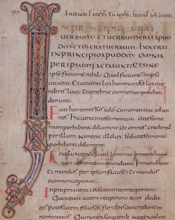 75r & 167v, Gospels, Add MS 11848, British Library (Carolingian Gospel Book)
