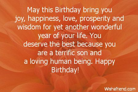 birthday wishes for a son - Google Search