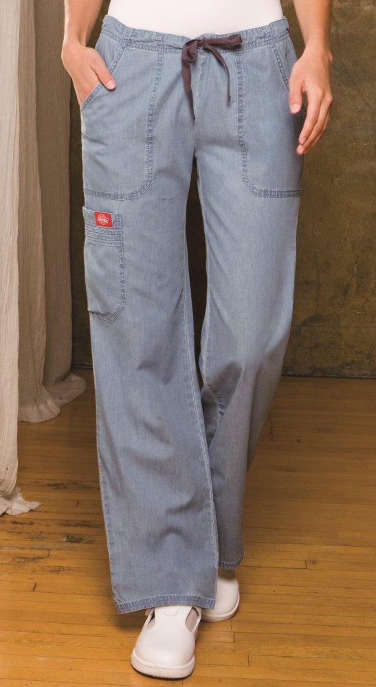Denim Pintuck Pocket Pant - Dickies 84001