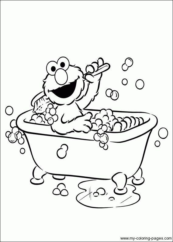 Elmo Coloring Pages Google Search Preschool Coloring