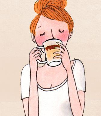 Cute Illustrations   Kanako Kuno   Café Marlette
