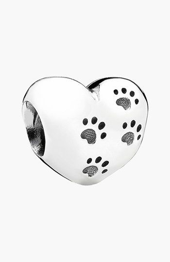 PANDORA 'My Sweet Pet' Heart Bead Charm | Nordstrom