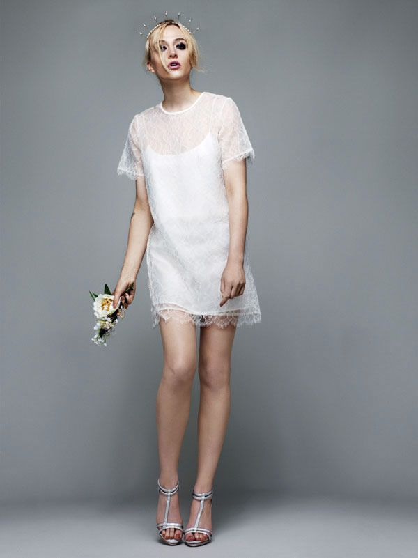Topshop Bridal Collection so feminine and elegant defines a perfect prom dress #TopshopPromQueen