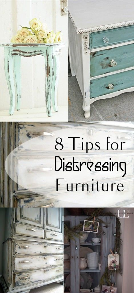 If you want to distress your furniture to give your rooms a more rustic look, here're the 8 tried and trusted ways to do that!