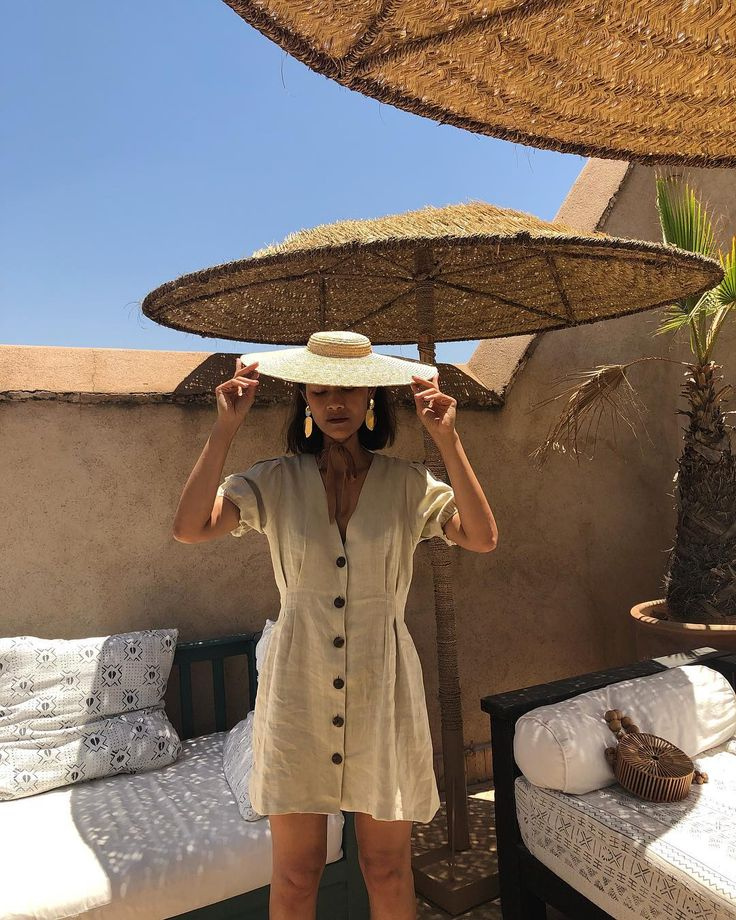 #Vestidolino. El #lino es ideal para el verano. Te…