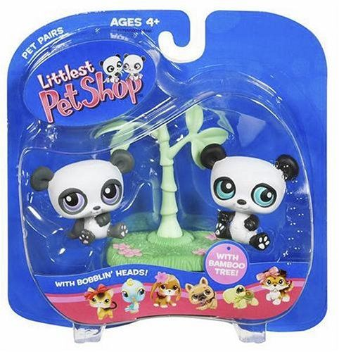 Pin By Jane Reding On Janieruthsfinds: Littlest Pet Shop Pet Pairs Twin Panda Bears ** Check Out