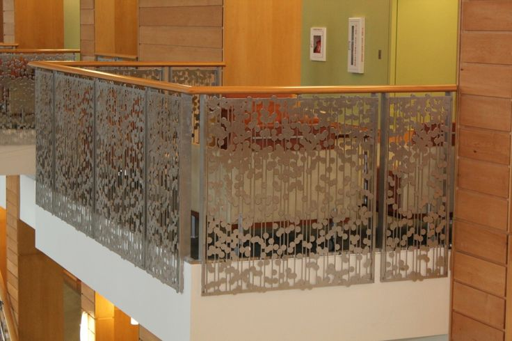 Lazar Cut Steel Railings Steel Stairs Rails Glass