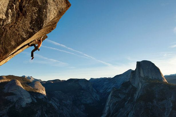 Rock Climbing: Rope Free- Dean Potter climbs Glacier Point (section called 'Heaven').