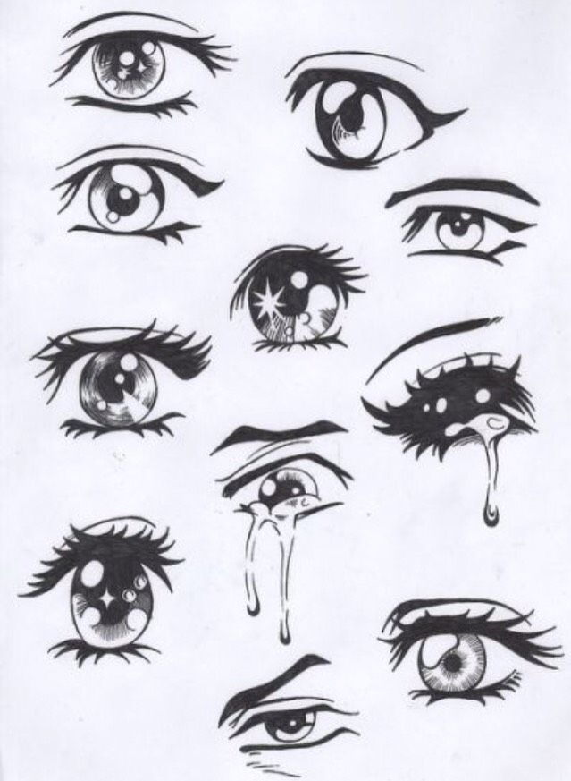 Anime Eyes To Draw Girl Face Drawing Easy Drawings