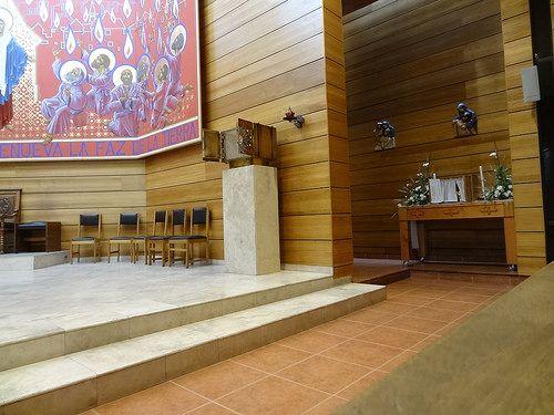 Celebracion de la pasión del Señor 2014. Santuario Cenáculo de Bellavista