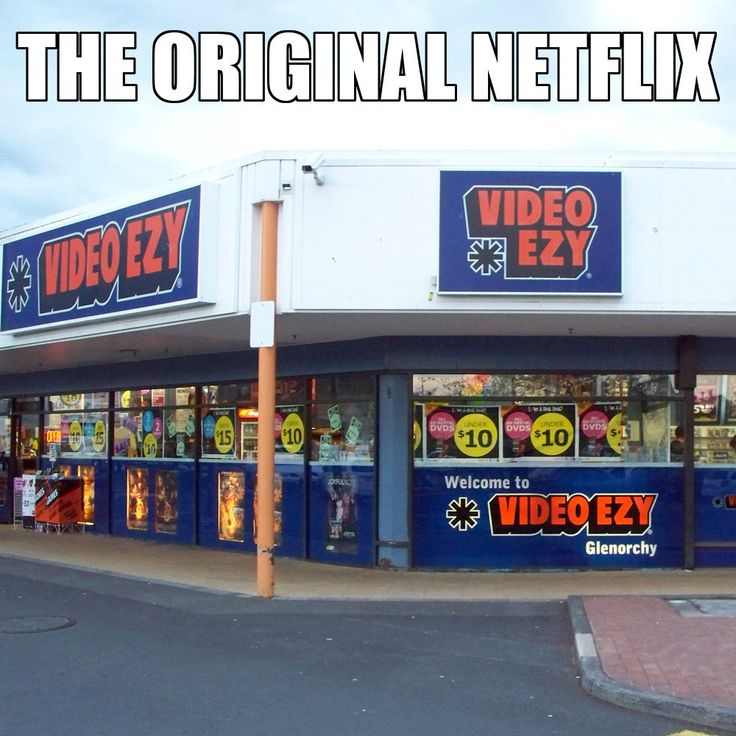 I USED TO LOVE VIDEO EZY THERE WAS ONE WE WOULD ALWAYS GO TO ME AND DAD AND HAVE MOVIE NIGHT EVERY FRIDAY IT WAS MY CHILDHOOD