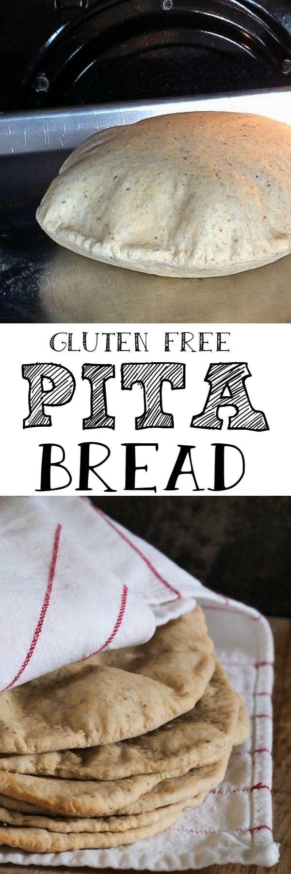 Gluten Free Pita Bread - substitute potato starch for possibly tapioca Starch in recipe