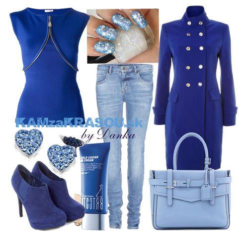 Pre veľké milovníčky modrej farby na oblečení - KAMzaKRÁSOU.sk #clothes #outfit #autumnfashion #autumnoutfit #fashion #sexioutfit #sexi #blue