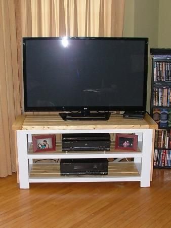 Stunning TV Stand Do It Yourself Home Projects from Ana White