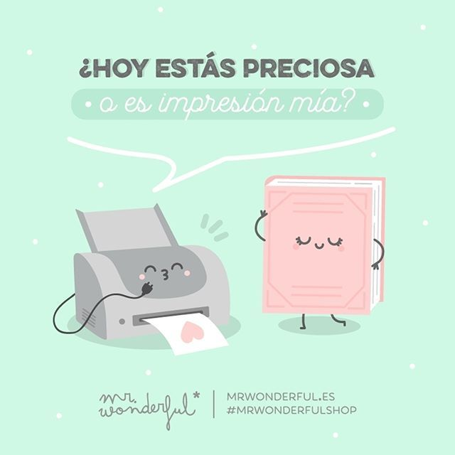 ¡Hoy estás que te sales! #mrwonderfulshop #felizjueves  Are you looking beautiful today or is it just me? Today you have really hit the spot!