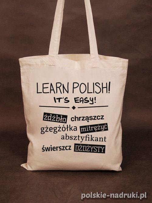 LEARN POLISH! Polskie Nadruki - Nieprzeciętny sklep z koszulkami!