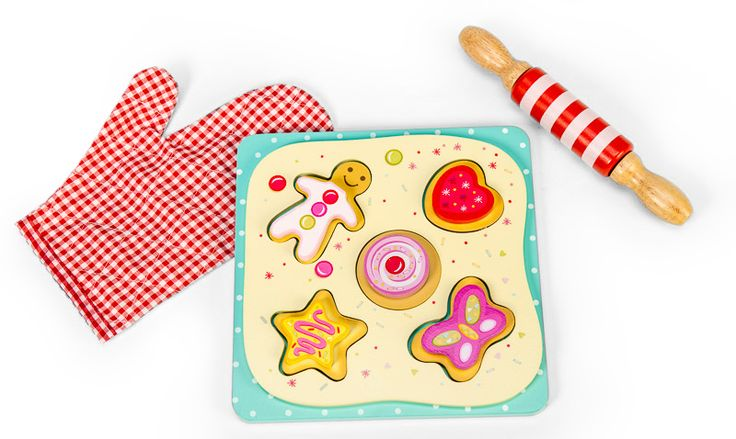 LETV286 - Honeybake Cookie Set by Le Toy Van. Distributed by Kaleidoscope.