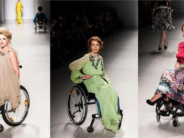 Γυναίκες με αναπηρία στην Εβδομάδα Μόδας