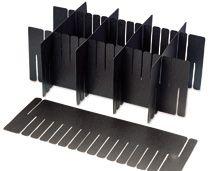 Polypropylene conductive dividers