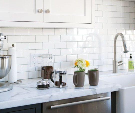 1000 ideas about marble countertops on pinterest white marble kitchen white granite kitchen - Glass kitchen countertops pros and cons ...