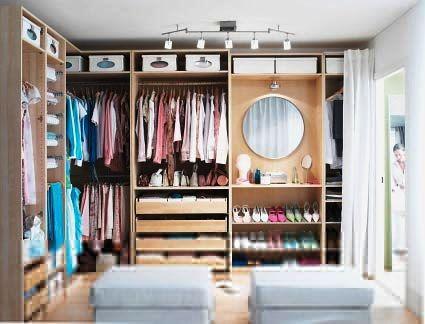 realistic closet