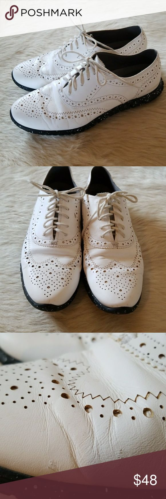 Cole Haan Zero Grande Oxford Sneakers COLE HAAN ZERO GRANDE OXFORD SNEAKERS. CUTE,PERFECT COLORS,DRESS UP OR DOWN. EXTREMLY COMFORTABLE.. **PICTURES DEPICT CONDITION**THEY ARE IN REALLY GOOD SHAPE***RUN TRUE TO SIZE** Cole Haan Shoes Sneakers
