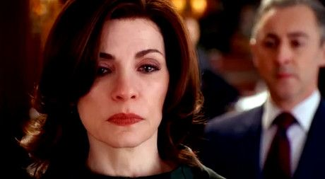 "The Good Wife  Season 5 Episode 16 ""The Last Call."" This episode is definitely a tear jerker... Make sure you have a box of tissues nearby when ur watching it... Who knew saying goodbye to Will would be so sad???"