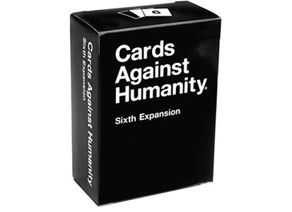 Cards Against Humanity 6th Expansion 6 utvidelse til Cards Against Humanity