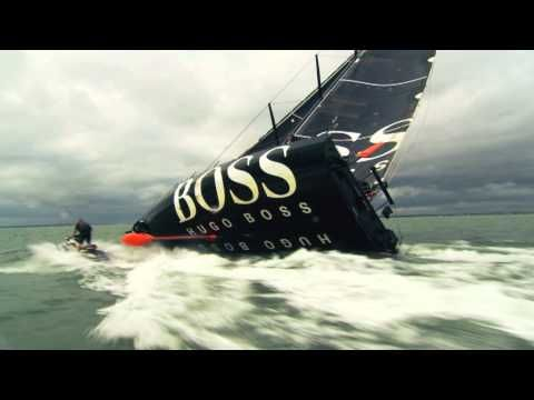 Hugo Boss ad features sailor at risk of getting crushed by 8-ton yacht. Here's how it was made without Photoshop...