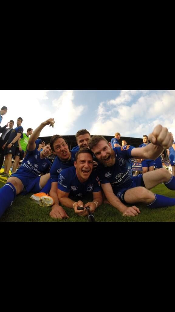 Leinster Rugby celebrations