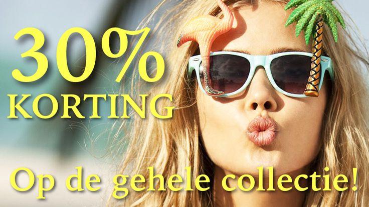 tijdelijk 30% korting op de gehele collectie! www.soshin.nl