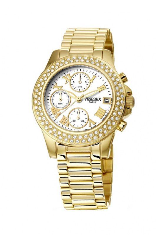 MD19480-02 - Vendoux Ladies Collection dames horloge