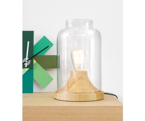 Liam 1 Light Table Lamp in Ash | Lamps | Lighting