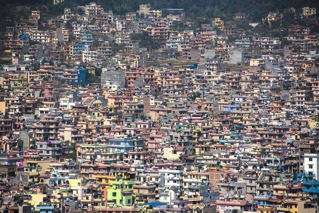 Think cities are concrete jungles? Think again! From Africa to Asia and everywhere in-between, these are the world's most colorful cities and towns.: Kathmandu, Nepal