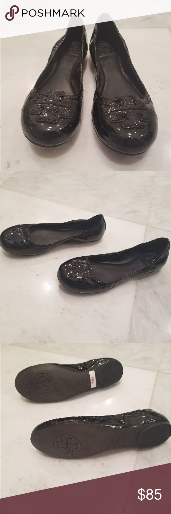 Tory Burch Flats brand new! Black Tory Burch Flats never been worn. Still have price tag on them. Purchased them from the Tory Burch store. Tory Burch Shoes Flats & Loafers
