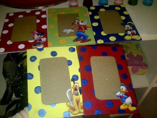 DIY Disney Picture Frames