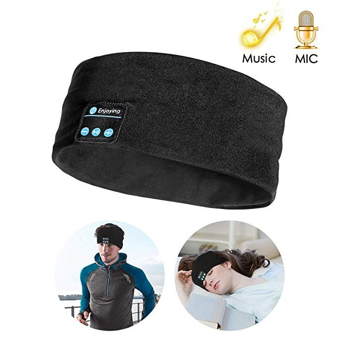 Bluetooth Headband Sleep Headphones Topoint Wireless Music Sport Headbands Sleeping Headsets Long Time Play Sleep Headphones Wireless Music Sports Headbands