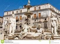 Sicilia Palermo -PIAZZA PRETORIA