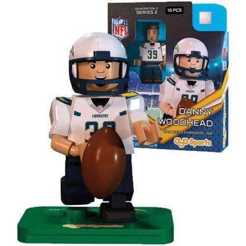 Danny Woodhead San Diego Chargers NFL minifigure Oyo Sports NIB Generation 3 SD