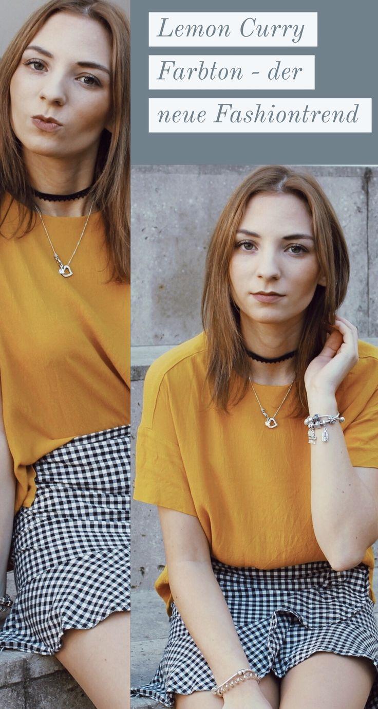 Lemon Curry – eine der Trendfarben für die neue Saison. Wie stylst du Lemon Curry? Was solltest du nun in Lemon Curry shoppen?  #lemoncurry #fashion #fashiontrend #outfit #trend #trendfarben #ootd #outfitoftheday