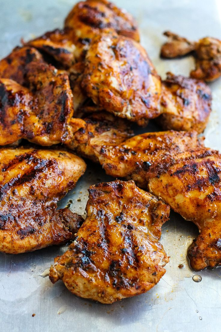 8. Spice-Rubbed Grilled Chicken #healthy #chicken #recipes http://greatist.com/health/healthy-exciting-chicken-breast-recipes
