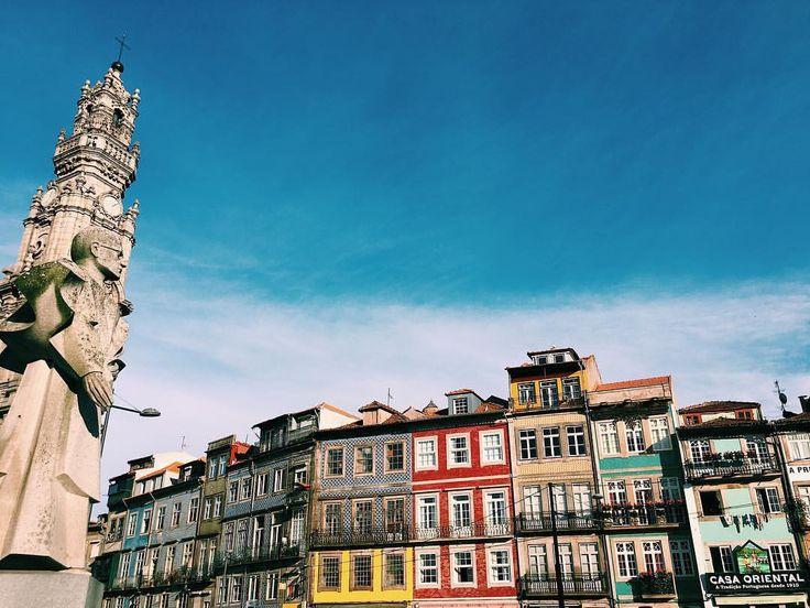 """108 Me gusta, 1 comentarios - Inês Filipe Mendes Coelho (@inesfmcoelho) en Instagram: """"See you soon 💙 #oporto #vsco #vscocam"""""""