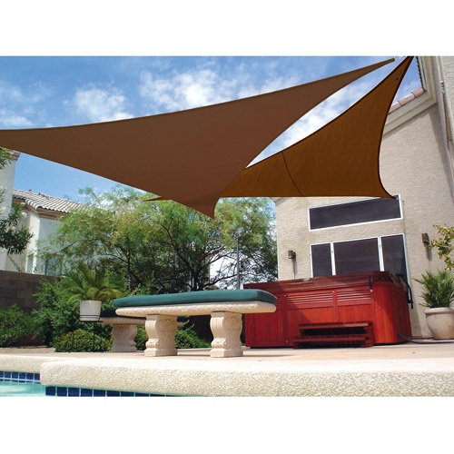 25 best shade sails images on pinterest | backyard ideas, patio ... - Shade Ideas For Patio